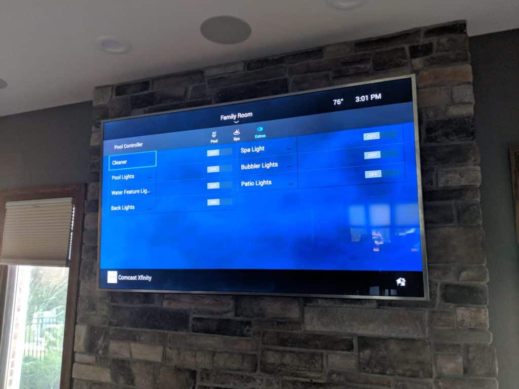 On Screen Control 4 Pool Control Integration