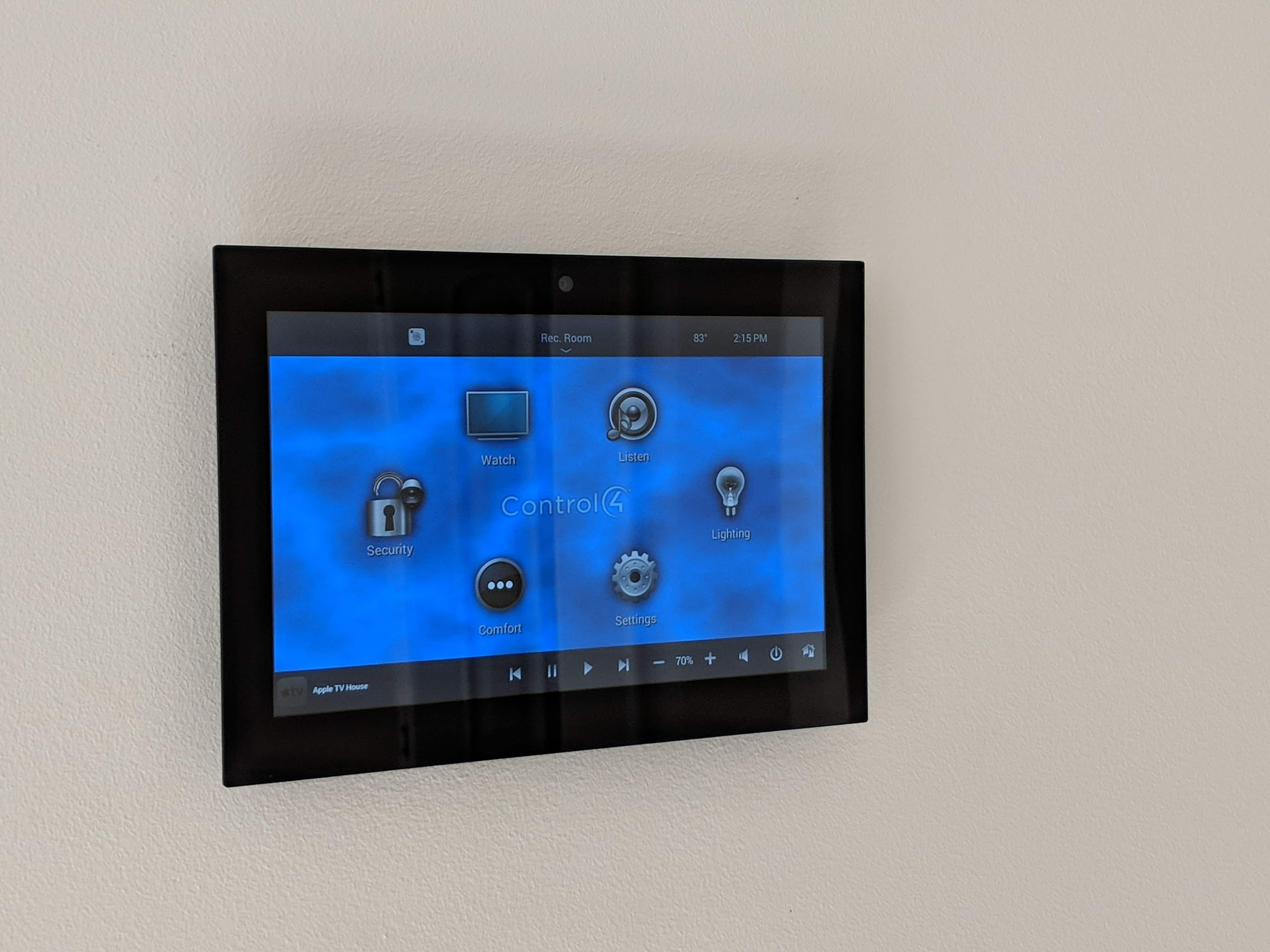 Control 4 Touch Panel