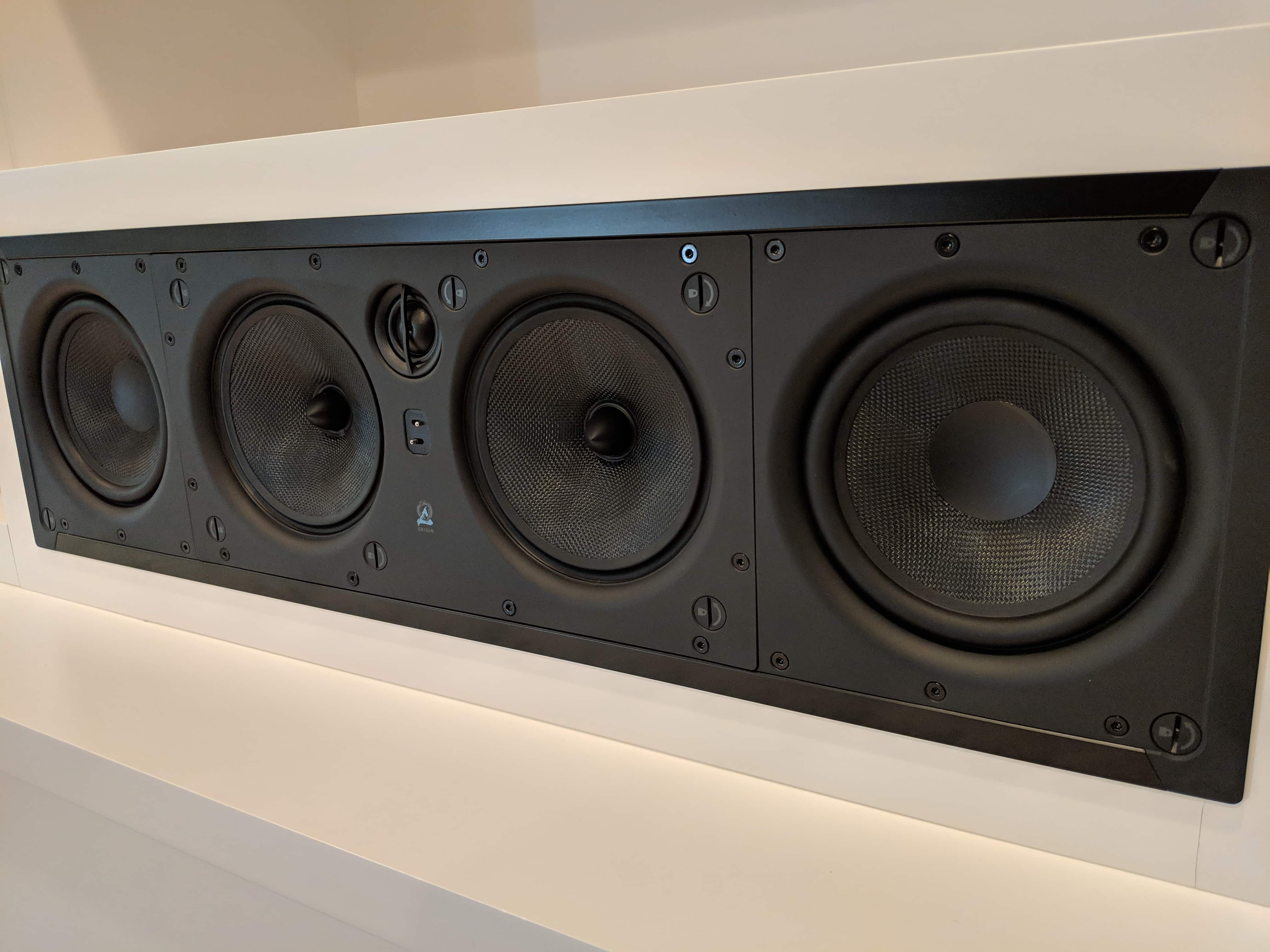 In-wall speakers
