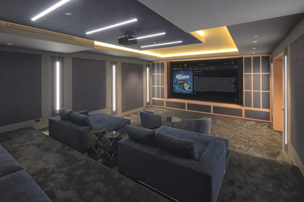 Hinsdale Home Theater Design